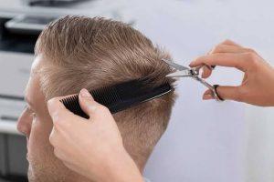 Tagliare i capelli dopo intervento